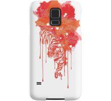 Painted tiger Samsung Galaxy Case/Skin