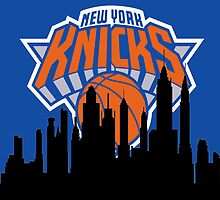 New York Silhouette Knicks by AbsoluteLegend