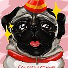 Congratulations Pug by Paper-Seas
