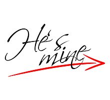 Hes mine Arrow Design by Style-O-Mat