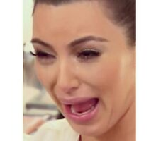 Kim Kardashian Crying by downandout