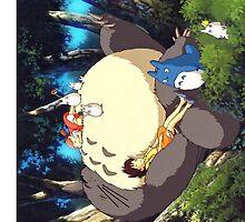 Totoro sleeping by Totorooo