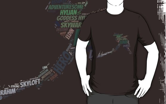 Wordle Skyward Link 2 by LinkXavier