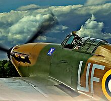 Hurricane Mk1 AE977/P3886 by larry flewers