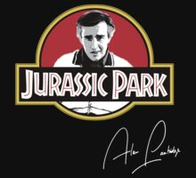 Jurassic Park! Signed Alan Partridge design by GarfunkelArt