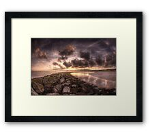 Golden Glamour  Framed Print