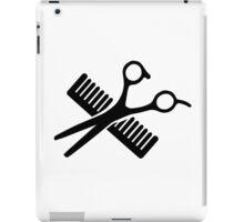 Comb & Scissors iPad Case/Skin