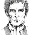 Portrait of Jeremy Brett  by NadddynOpheliah
