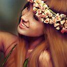 Flowers in her hair by Kagara