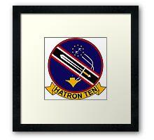 VAH - 10 HATRON TEN - Heavy Attack Squadron - Vikings Framed Print