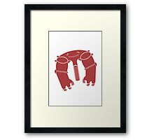 Eccedentesiastion Eradicator Framed Print