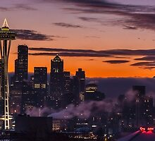 Seattle Sunrise Clarity by mikereid