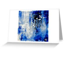 Abstract #1 Greeting Card