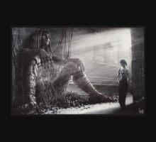 Cyberpunk Photo 009 t-shirt by Ian Sokoliwski