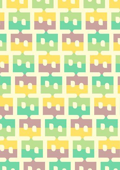 Pastel Pattern by David Orr