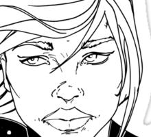 New 52 Supergirl Sticker