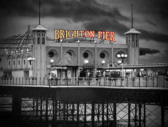 Brighton Pier - HDR- SC by Colin J Williams Photography