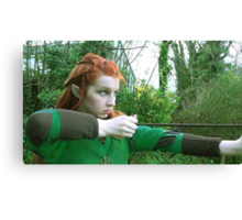 Tauriel - (The Hobbit Cosplay) Canvas Print