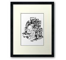Draw my life Framed Print