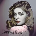 Lauren Bacall by womoomow