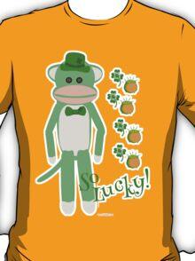 So Lucky Sock Monkey T-Shirt