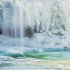 Icy Waterfall by Kenneth Keifer