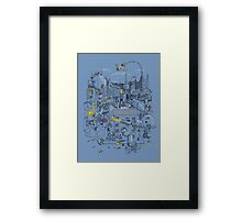 Ode to the City Framed Print