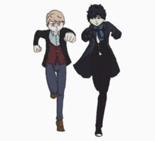 Sherlock Run by Stitch0Kittens