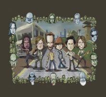 The Walking Dead by Kenny Durkin T-Shirt