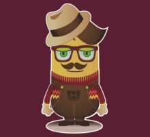 Hipster Minion by kridel