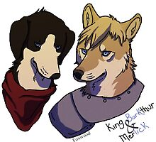 Merlick and King Barkthur by Foxwood
