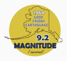 1964 GOOD FRIDAY EARTHQUAKE CIRCLE by Ed Rosek