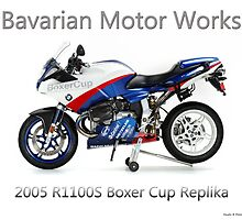 BMW Boxer Cup Replica R1100S by William  Israelson