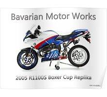BMW Boxer Cup Replica R1100S Poster