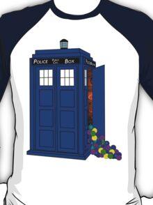 Police Box Yarn Box T-Shirt