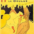 'Moulin Rouge' by Toulouse Lautrec (Reproduction) by Roz Barron Abellera