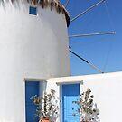 Windmill House Mykonos by Carole-Anne