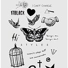Harry's Tattoos Case by AllyCat :)