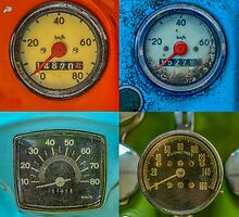 Vintage Speedometers by mrdoomits