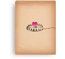 Love trap, Hunting Love  Canvas Print