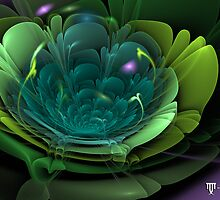 Fractal bloom2 by Manafold Art