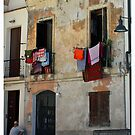 Italian Architecture, Sardinia, Italy by Claire McCall