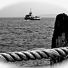 Prudence Island Ferry by Nancy Richard