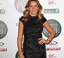 Natalie Pinkham from Sky Sports by Keith Larby
