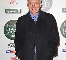 Tony Brooks at the Motorsport Hall of Fame 2014 by Keith Larby