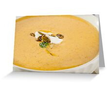 Squash Soup Greeting Card