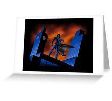 Sherlock Cartoon Greeting Card