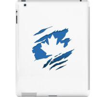 Canada Blue Leaf iPad Case/Skin
