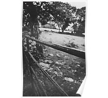 Black & White countryside Poster