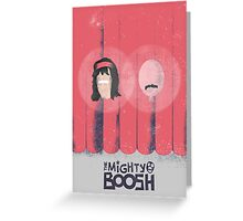 The Mighty Boosh Minimal Poster Greeting Card